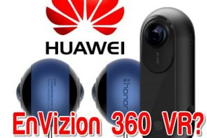 Huawei Envizion 360 camera: a modified Insta360 ONE?