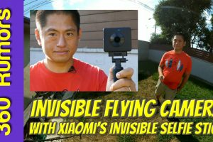 Invisible Flying Camera with Xiaomi Mijia Mi Sphere Selfie Stick