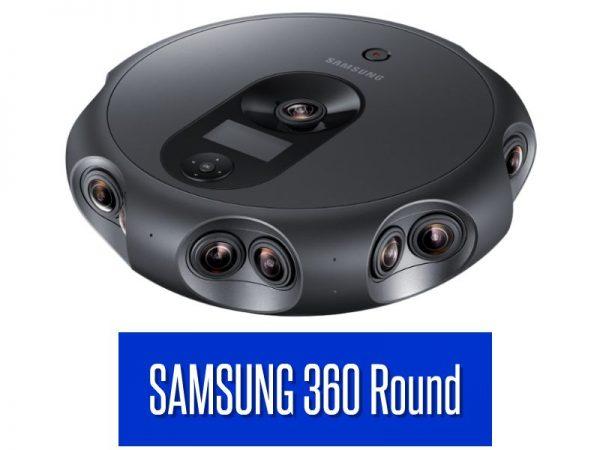 Samsung 360 Round 4K 3D 360 camera