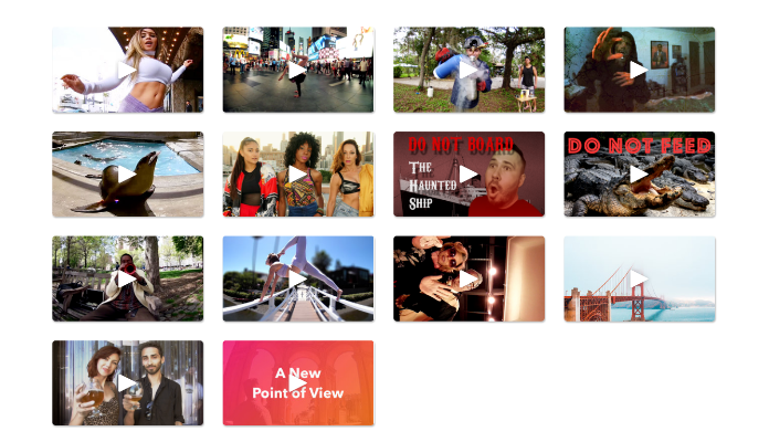 Enjoy curated 3D 360 videos on Amaze VR