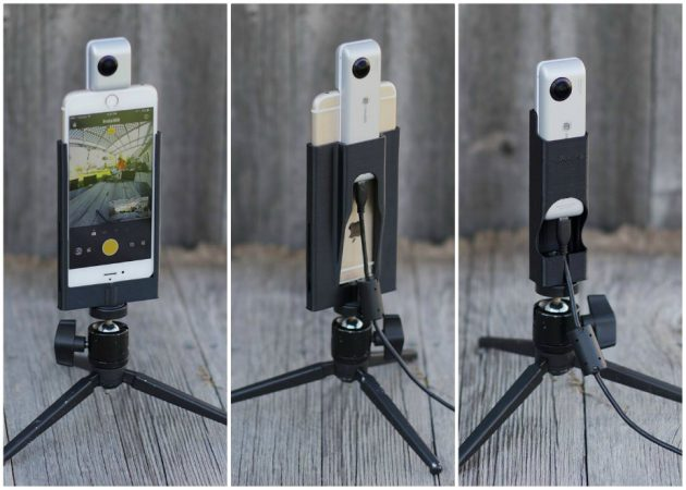 Cinerails Insta360 Nano holder