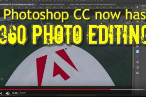 Photoshop CC 360 photo editing