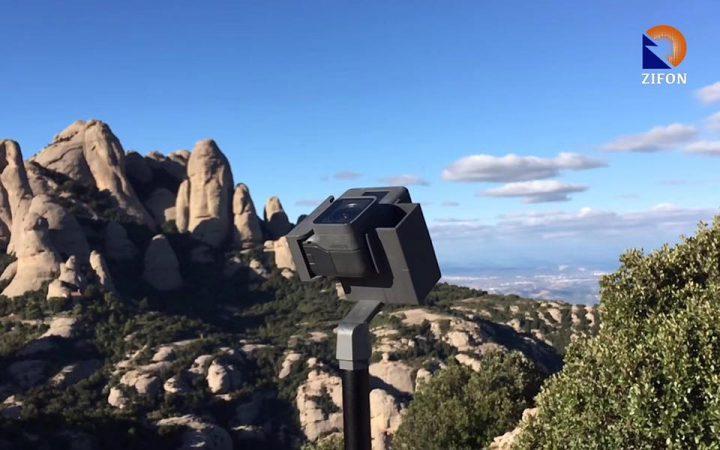 Zifon iGO panoramic head for GoPro
