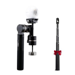 FeiyuTech G360 gimbal for 360 cameras, with extension handle