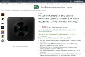 Xiaomi Mijia Mi Sphere is now on Amazon