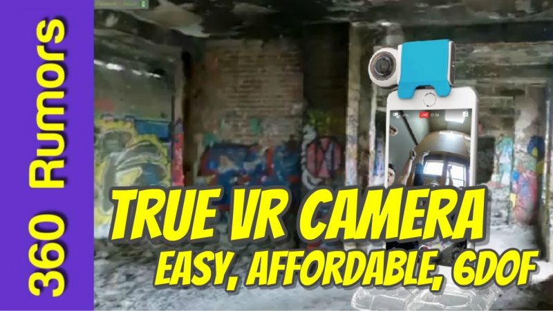 A true virtual reality camera - Giroptic iO will have VR capture capability