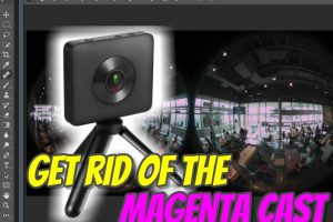 How to get rid of the magenta cast in a raw file
