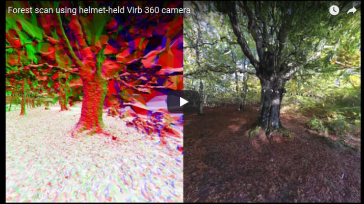 Jaw-dropping software converts 360 video into 3D model for