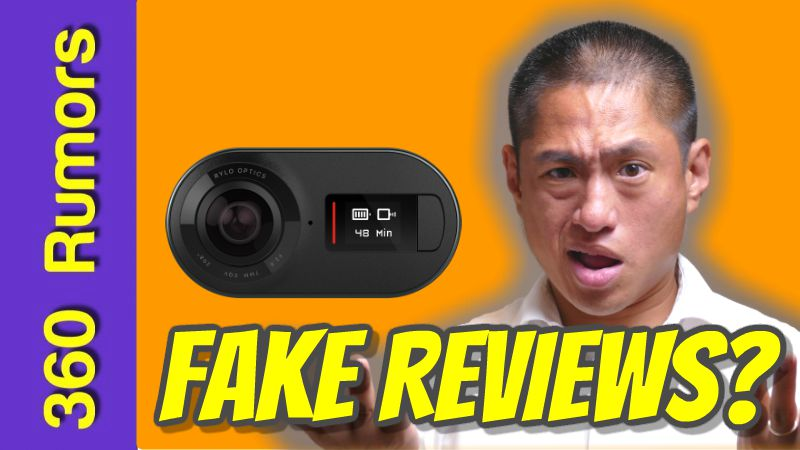 Rylo 360 camera's Amazon reviews: real or fake?