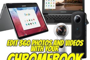 Edit 360 photos and videos on Chromebook