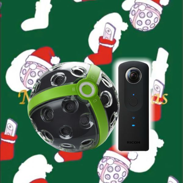 iStaging Panono and Ricoh Theta raffle