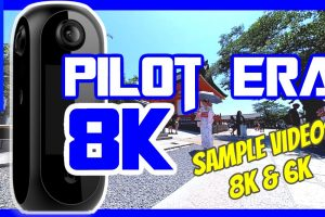 Pisofttech Pilot Era sample 360 videos in 8K and 6K