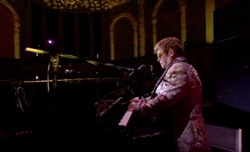 Sir Elton John's farewell tour in Google VR180