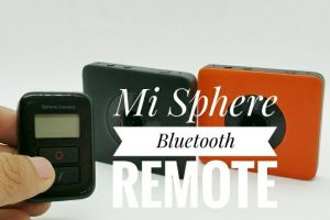 Xiaomi Mijia Mi Sphere and Madv Madventure 360 Bluetooth remote