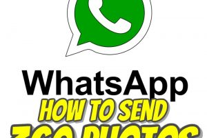 How to send 360 photos on WhatsApp