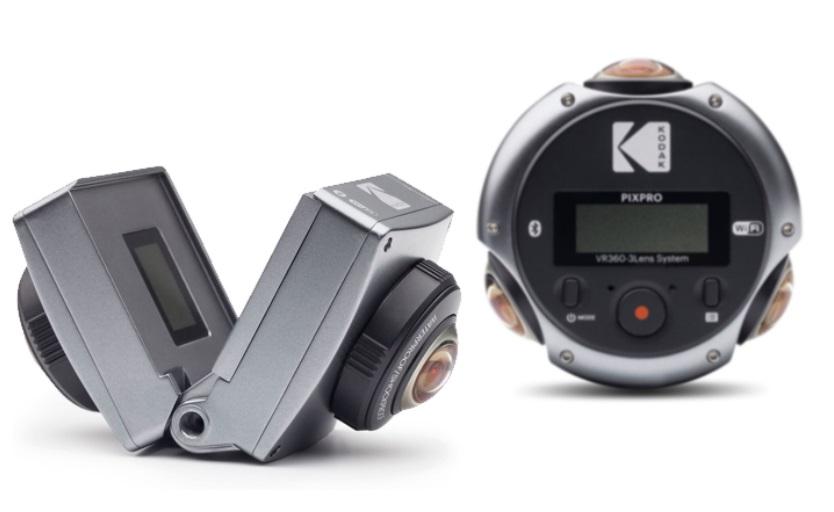 Kodak PIXPRO 360 cameras 2018: 8K camera and 360 / 3D 180 camera