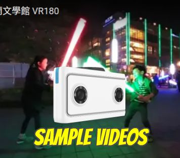 Lenovo Mirage camera VR180 sample videos