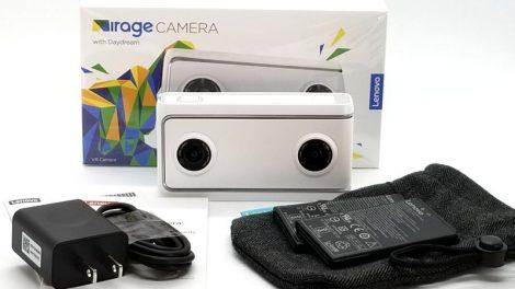 Lenovo Mirage camera unboxing