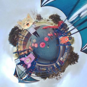 Panoclip tiny planet sample