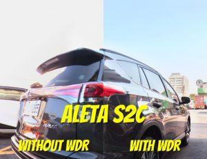 Aleta S2C WDR increases dynamic range