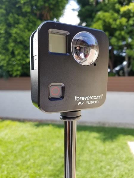 ForeverCam external housing case for GoPro Fusion