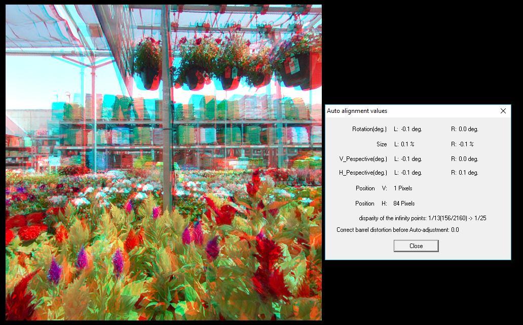 Kandao Qoocam 3D Alignment test