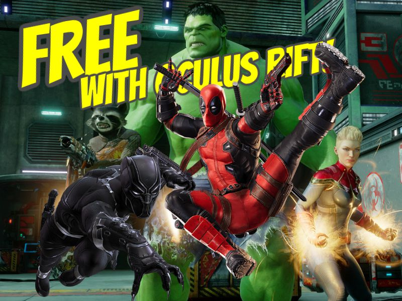 Marvel Powers United VR free for Oculus Rift