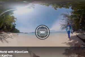 Kandao Qoocam new video