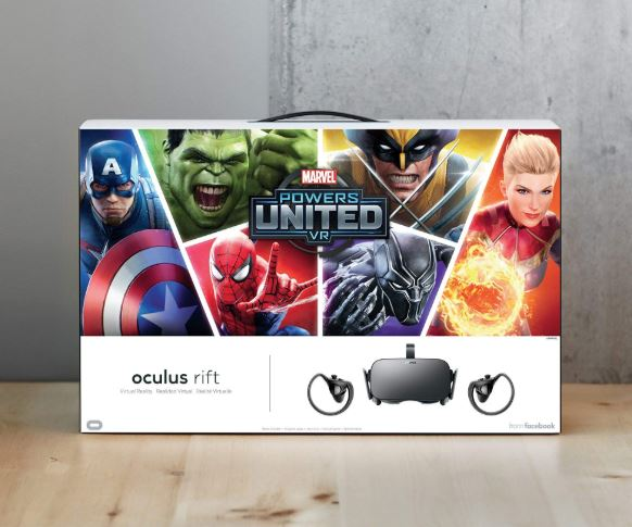 Oculus Rift Marvel Powers United VR bundle