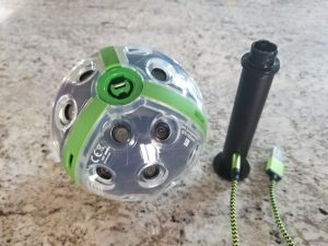 Panono and the tripod adapter