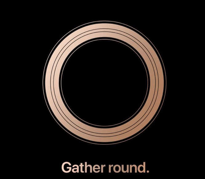 Apple Gather Round event