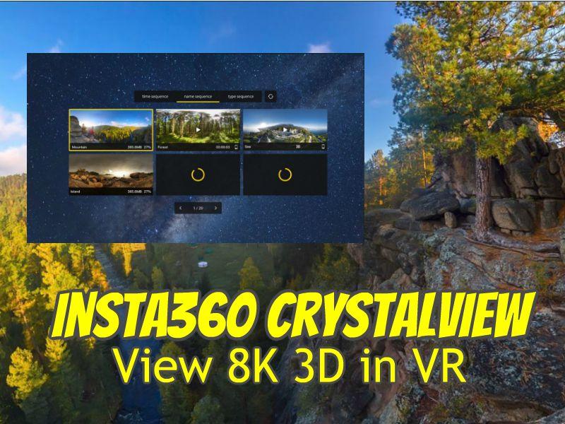 Insta360 Moment (Insta360 CrystalView app)