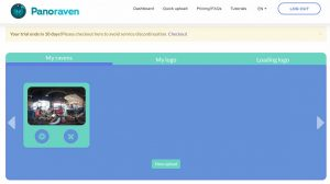 With a paid Panoraven account, you'll be able to add titles and delete photos