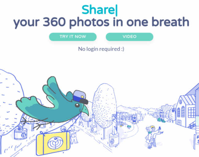 Panoraven is like Imgur for 360 photos