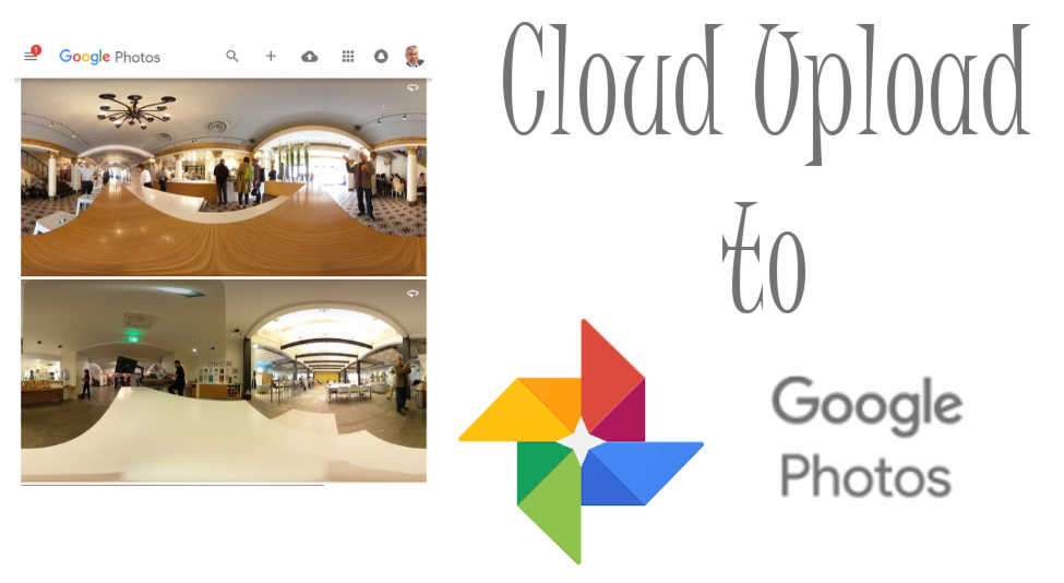 Ricoh Theta V cloud upload plug-in