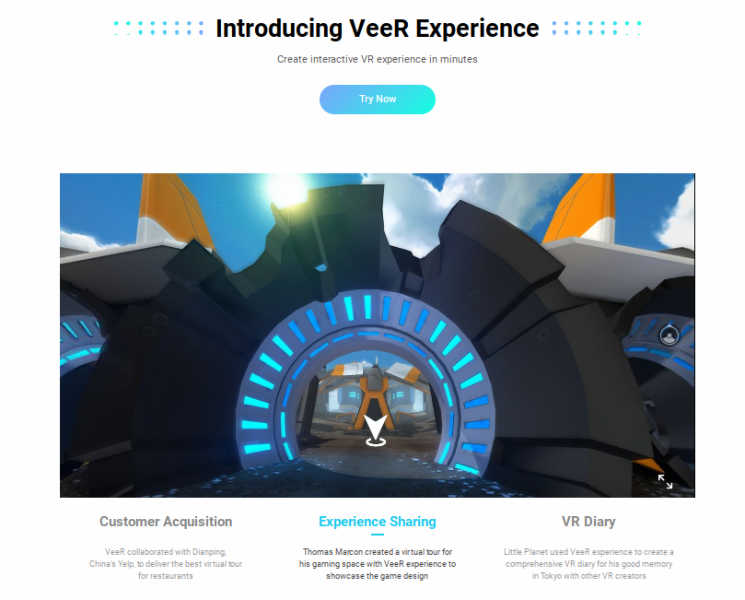 Veer Experience free virtual tour creator software