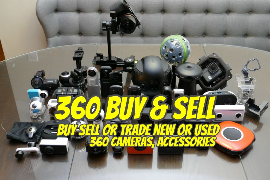 Buy and sell new or used 360 cameras
