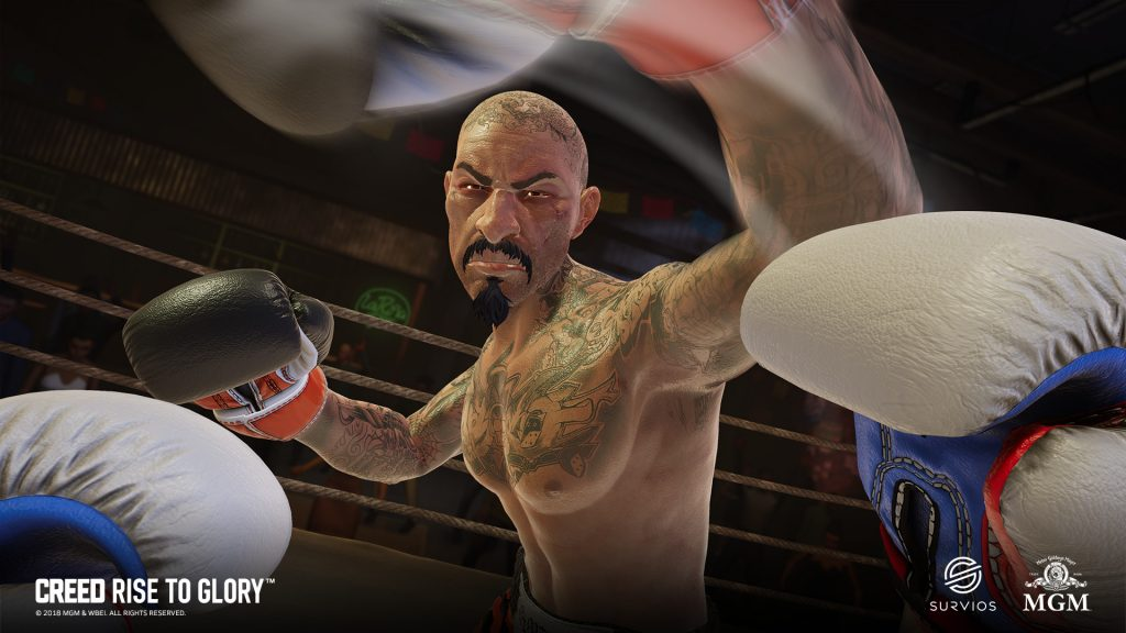 Creed VR boxing game