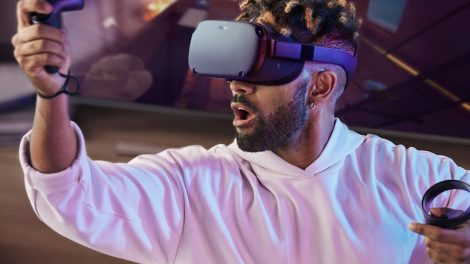 Oculus Quest standalone 6DOF headset (formerly called Project Santa Cruz)