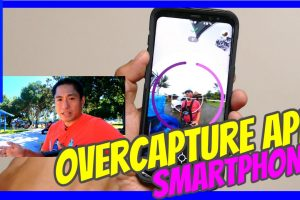 Overcapture videos on your smartphone with any 360 camera app on Collect 360 a free 360 video editing app