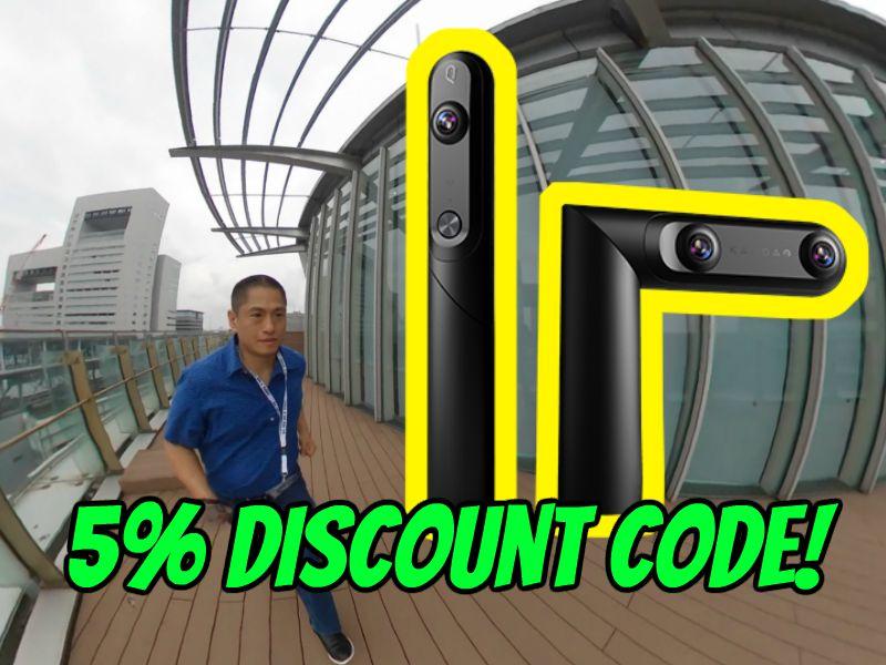Kandao Qoocam discount code