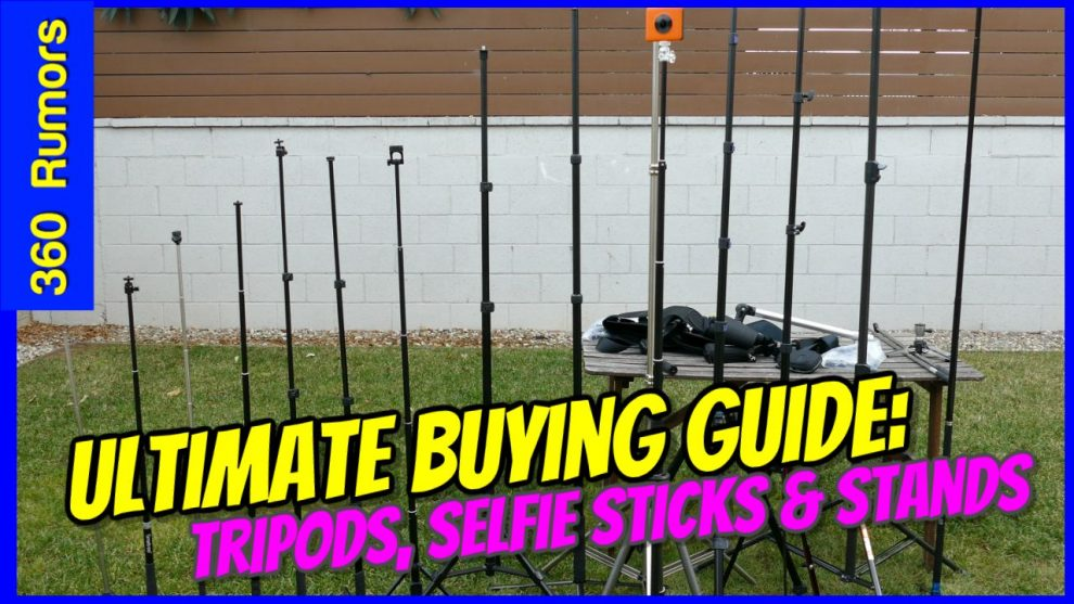 Best 360 camera tripod and 360 camera selfie stick - ultimate buying guide