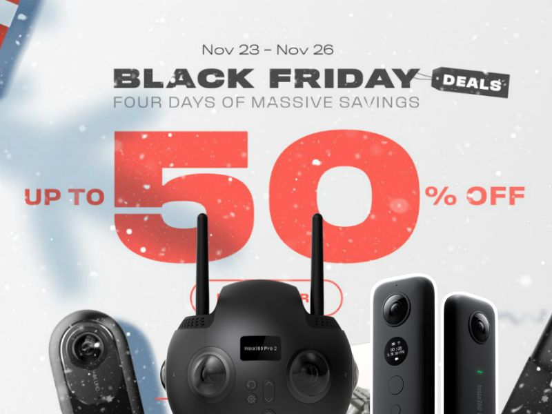 Black Friday 2018: Insta360 Pro 2, Insta360 One X, Insta360 One and more