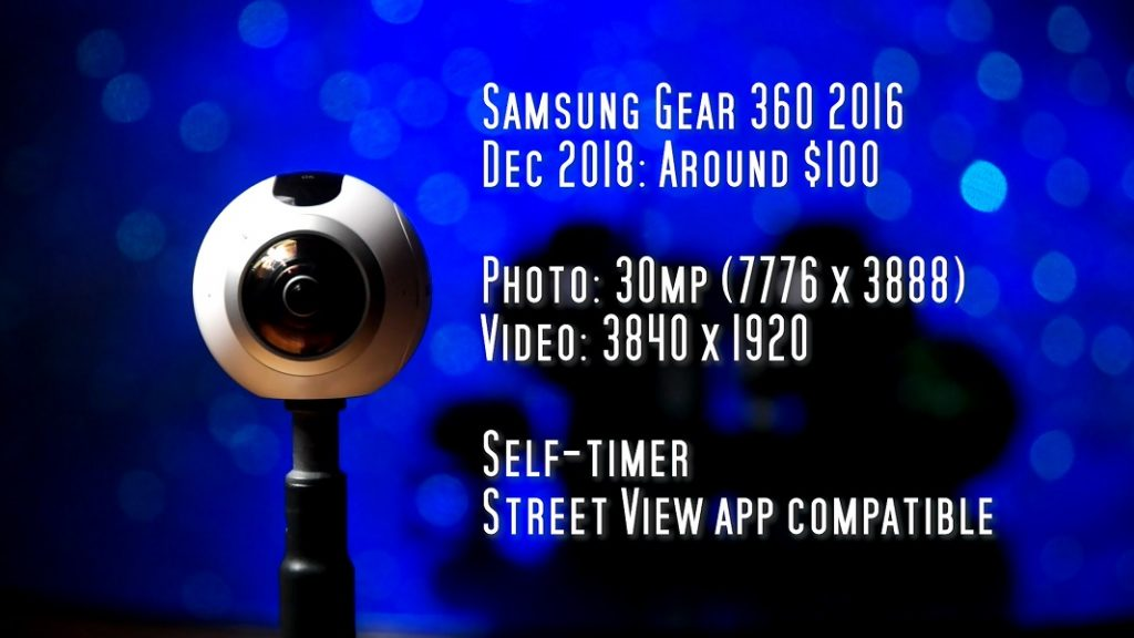 Samsung Gear 360 for virtual tours: detailed but with limited exposure controls and limited compatibility