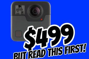 GoPro Fusion sale $499