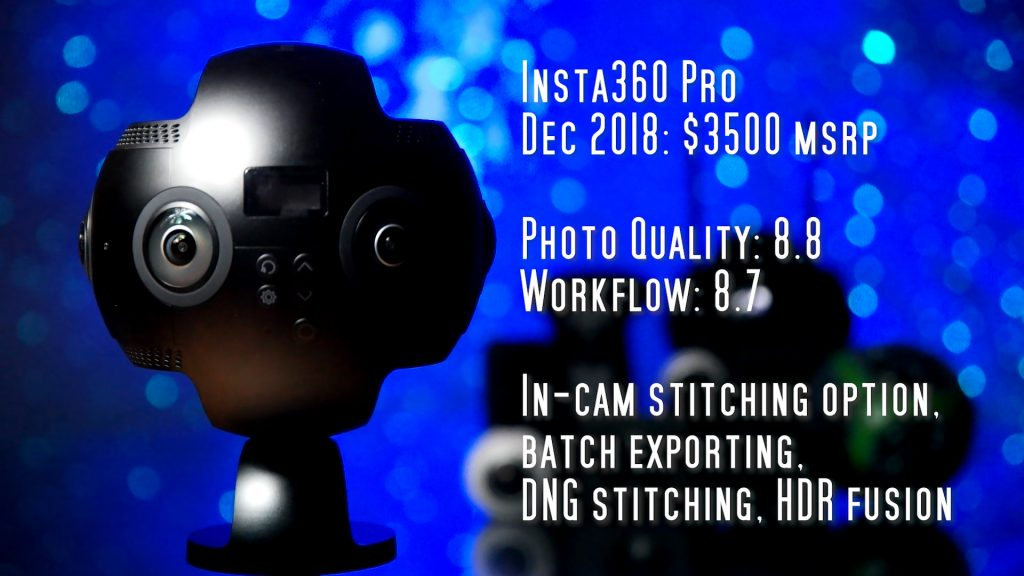 Insta360 Pro for virtual tours