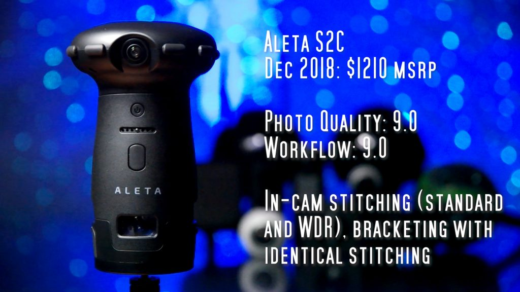 Ultracker Aleta S2C for virtual tours