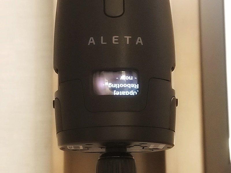 Updating Aleta S2C firmware