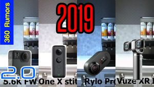 GoPro Fusion 2.0 comparison vs Insta360 One X vs Rylo vs Vuze XR
