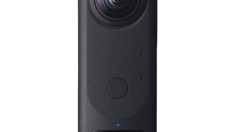 Ricoh Theta Z1 360 camera with 1-inch sensors